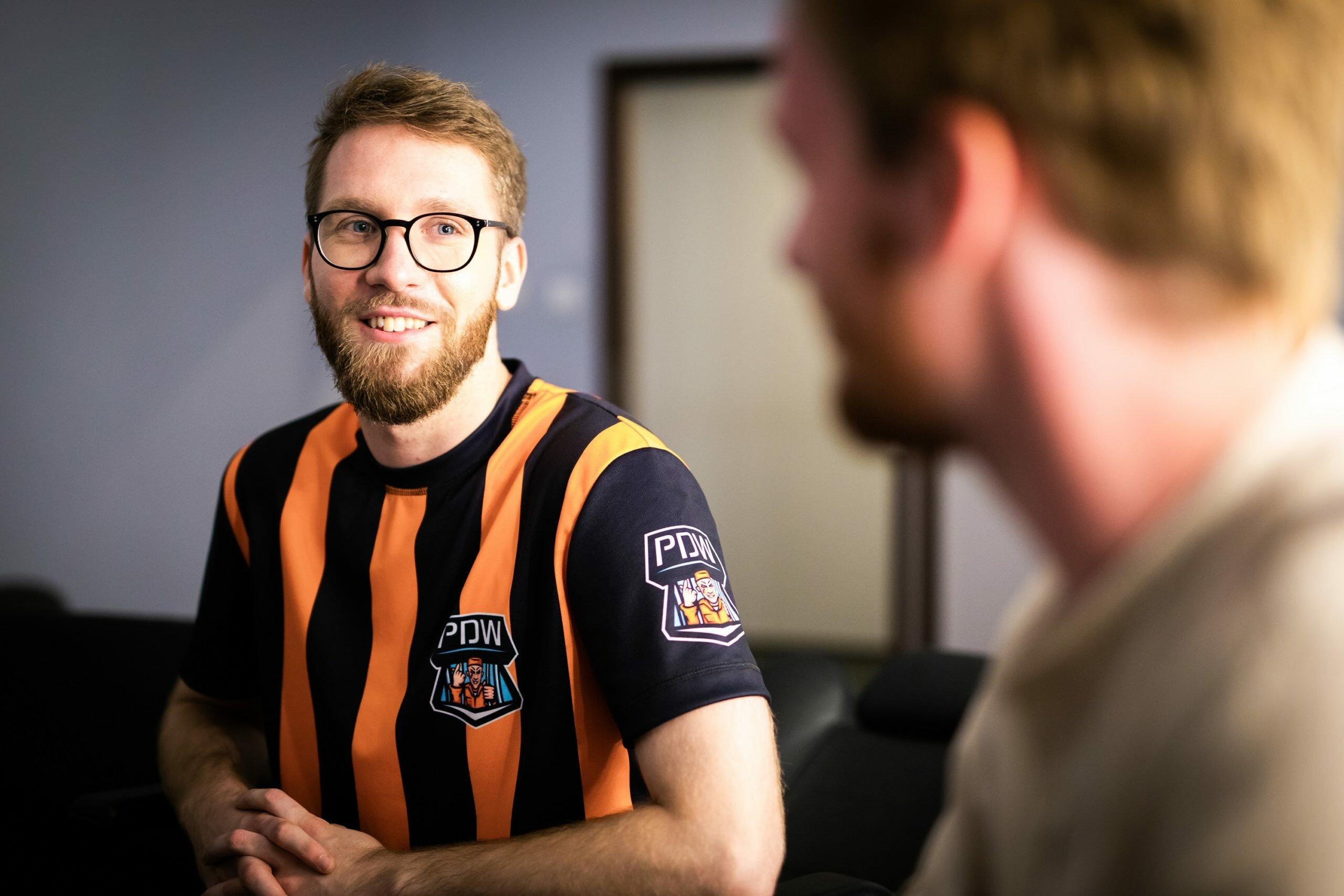 """Jakub """"kubYD"""" Grobelny - reprezentant PDW, aktualny mistrz Polski w League of Legends. Fot. Polsat Games / Radosław Makuch"""