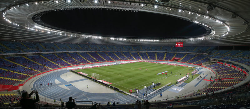 Stadion Śląski - tu tu zorganizowane zostaną polskie kwalifikacje na V4 Future Sports Festival pod nazwą PUCHAR NADOROWEJ DRUŻYNY ESPORTU fot. Piotr Kucza / 400mm.pl