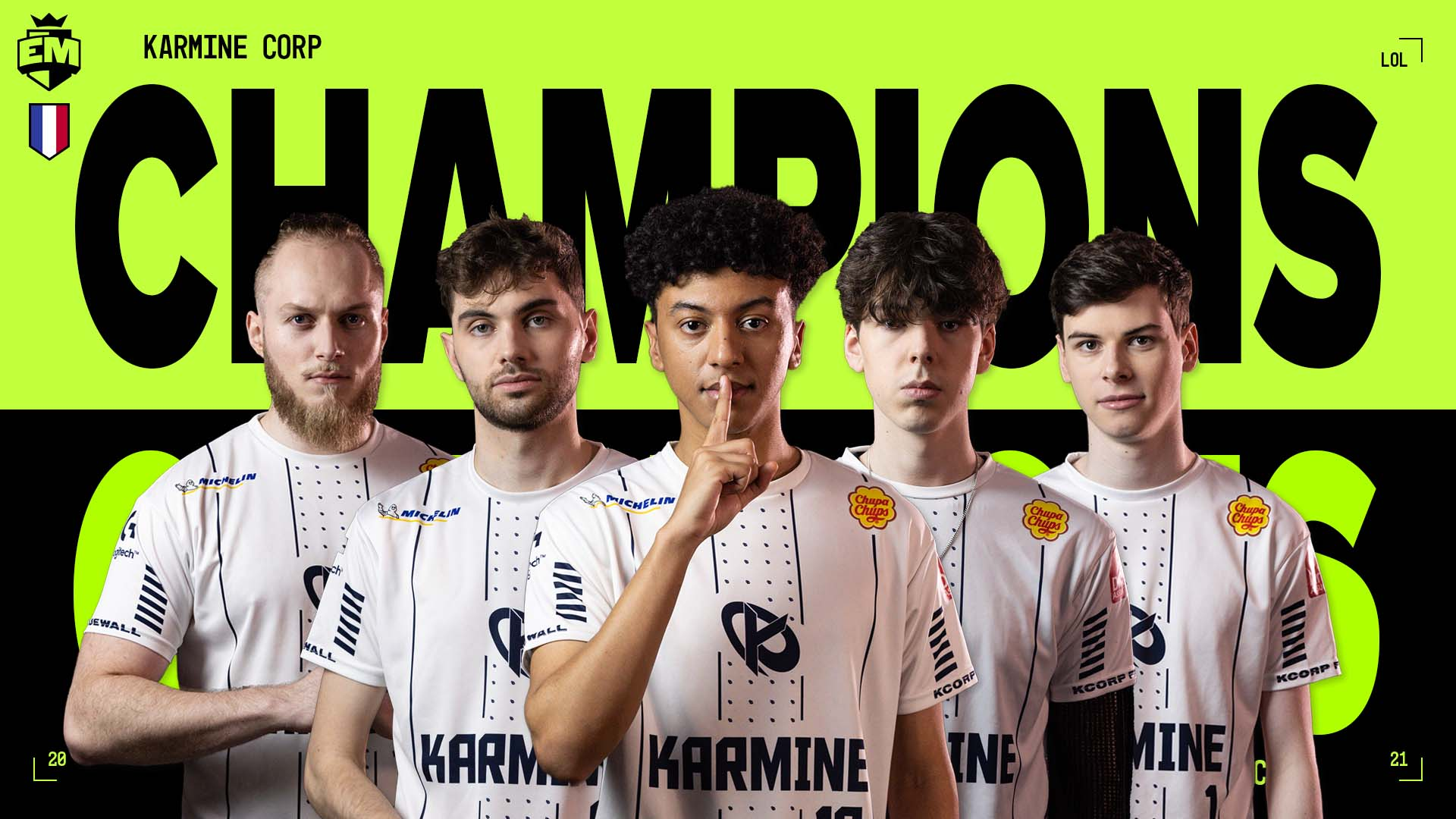 Karmine Corp obroniło tytuł. Cinkrof i spółka mistrzami EU Masters