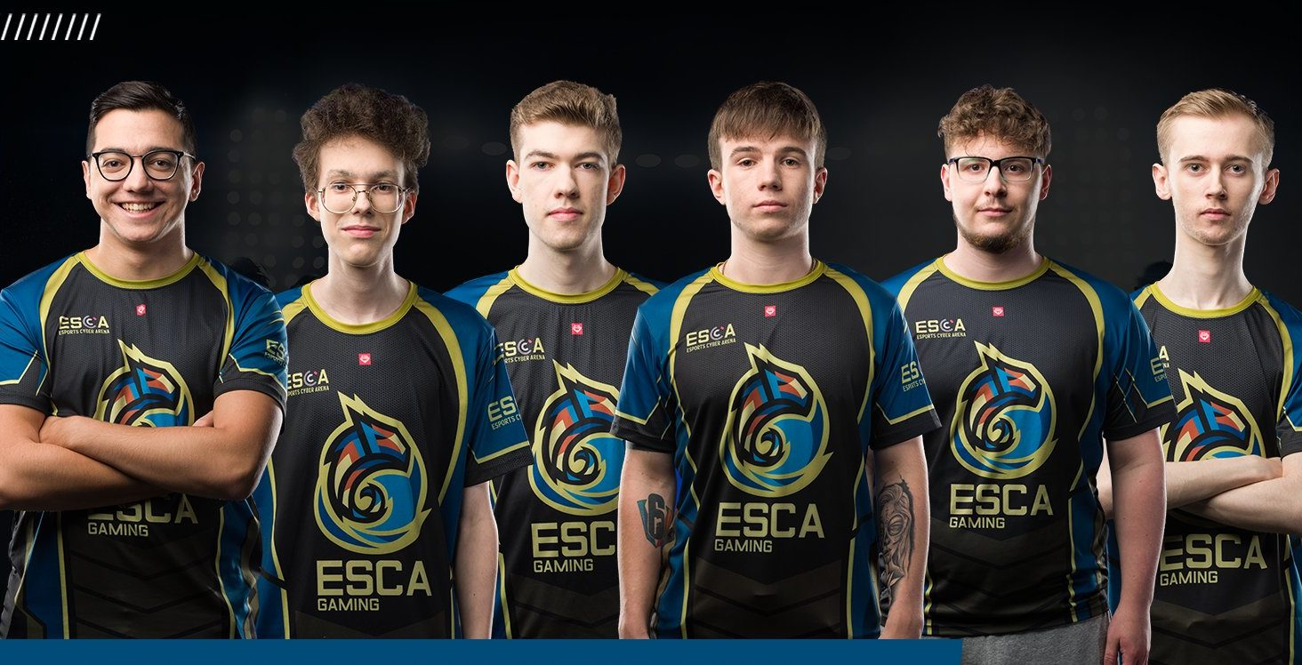 Team ESCA Gaming rozstaje się z drużyną Rainbow Six: Siege
