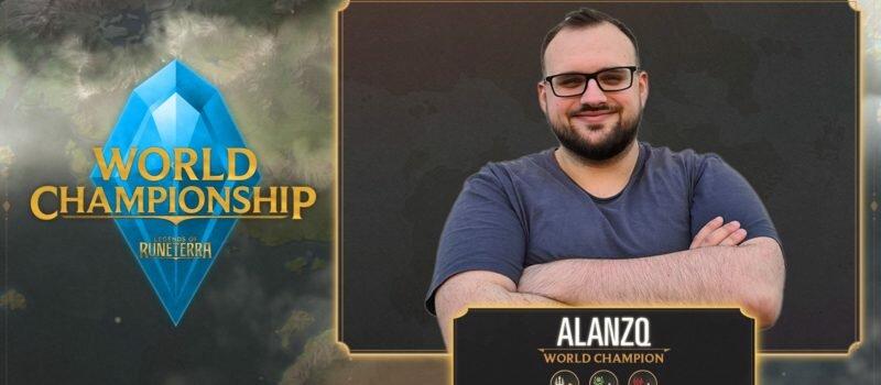 Mateusz Alanzq Jasiński - pierwszy w historii mistrz świata w Legends of Runeterra