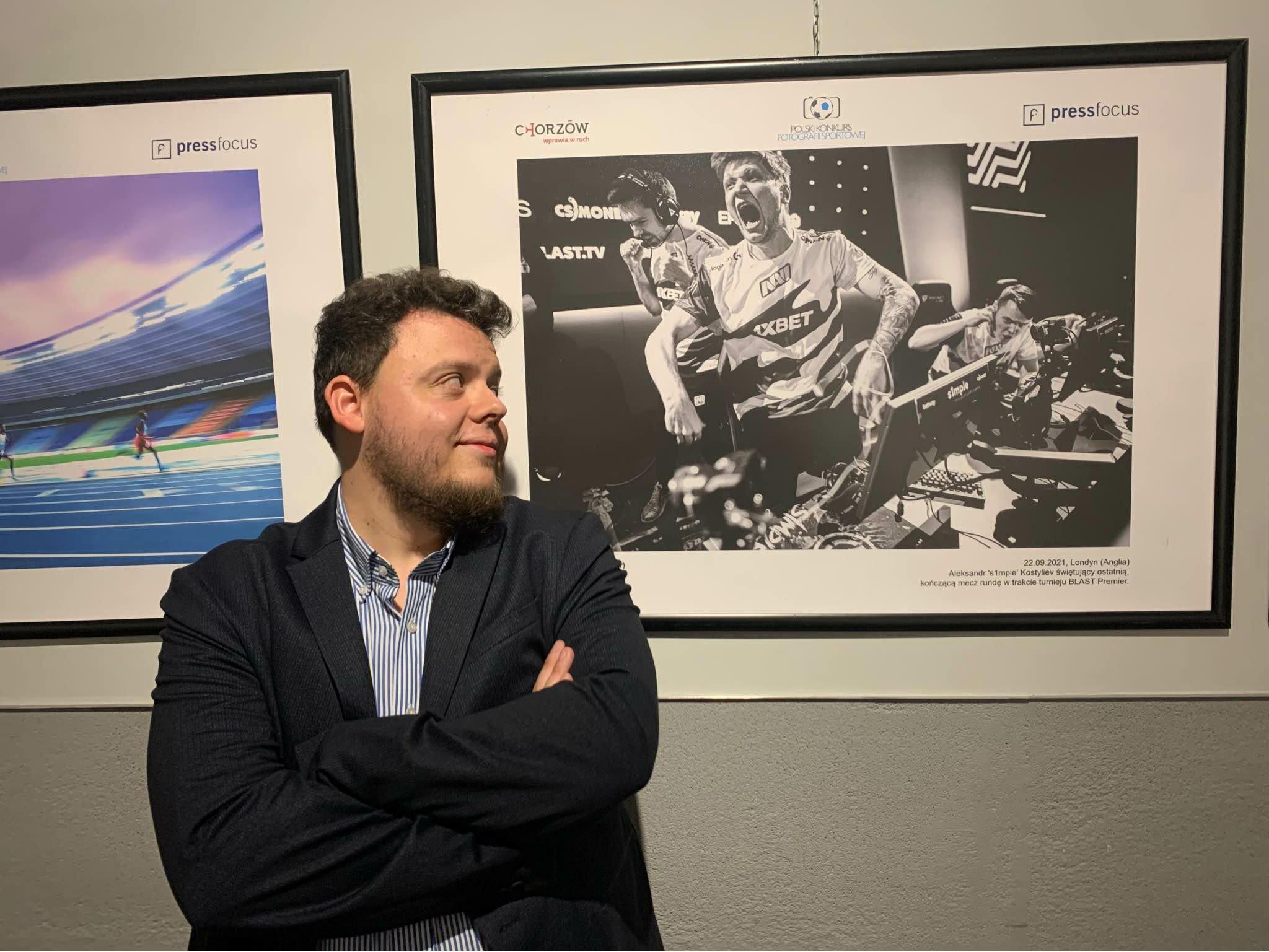 Maciej Kołek wyróżniony podczas Polskiego Konkursu Fotografii Sportowej